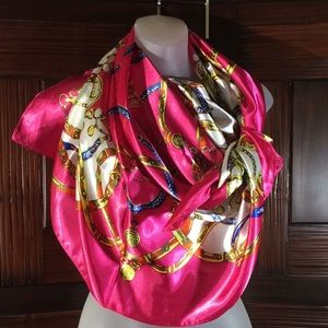 Accessories - Scarf Pure Silk Designers With Many Colors
